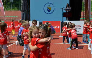 Youth Sports Games B&H in Srebrenica officially opened