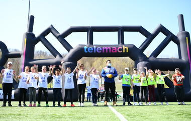 Petrinja hosted the first Telemach Sports Day in the new season