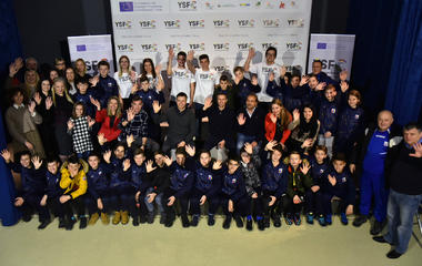 Youth Sports Fair Chance - interactive meeting of young and professional athletes in Sarajevo