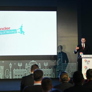 UEFA President proclaimed ambassador of Youth Sports Games