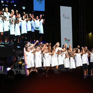 Closing Ceremony of 23. Youth Sports Games in Split